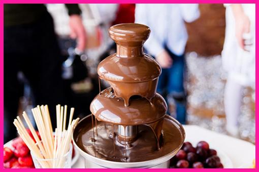 Chocolate Fountain €250