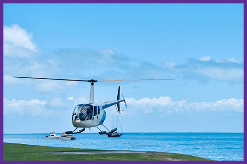 Helicopter Tour €500
