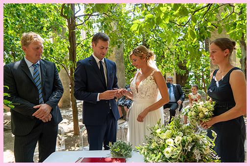 Lemon's Garden Wedding €450